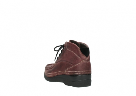 wolky lace up boots 06242 roll shoot 90510 bordo nubuck_5
