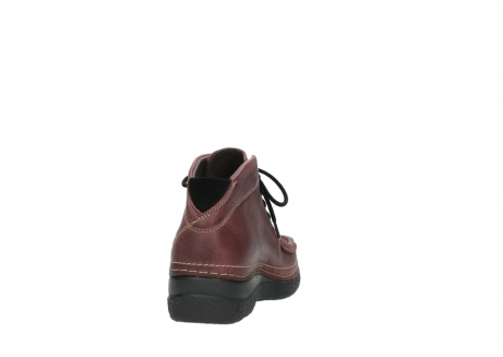 wolky lace up boots 06242 roll shoot 90510 bordo nubuck_8