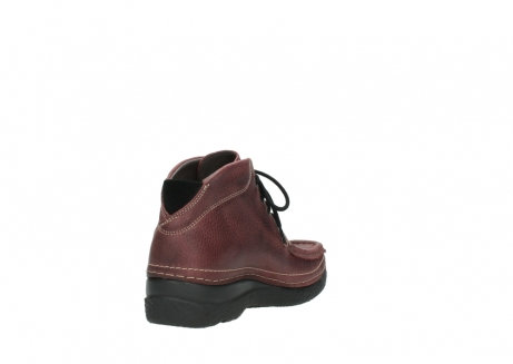 wolky lace up boots 06242 roll shoot 90510 bordo nubuck_9