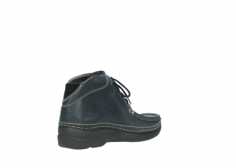 wolky lace up boots 06242 roll shoot 90800 dark blue nubuck_10