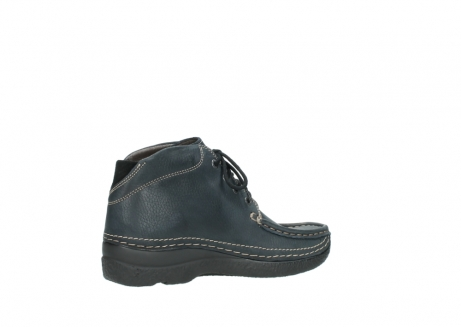 wolky lace up boots 06242 roll shoot 90800 dark blue nubuck_11