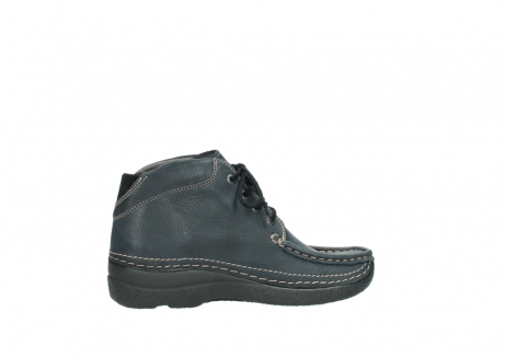 wolky lace up boots 06242 roll shoot 90800 dark blue nubuck_12
