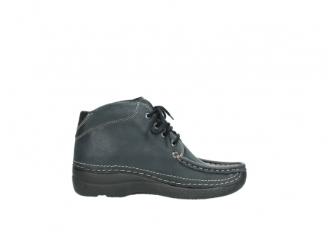 wolky lace up boots 06242 roll shoot 90800 dark blue nubuck_13