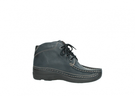 wolky lace up boots 06242 roll shoot 90800 dark blue nubuck_14