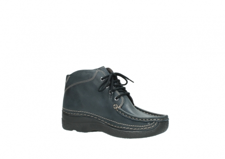 wolky lace up boots 06242 roll shoot 90800 dark blue nubuck_15