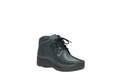 wolky lace up boots 06242 roll shoot 90800 dark blue nubuck_16