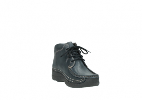 wolky lace up boots 06242 roll shoot 90800 dark blue nubuck_17