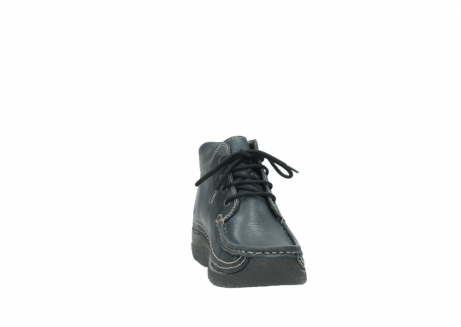 wolky lace up boots 06242 roll shoot 90800 dark blue nubuck_18