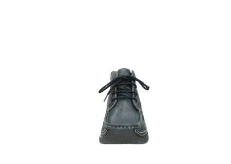 wolky lace up boots 06242 roll shoot 90800 dark blue nubuck_19