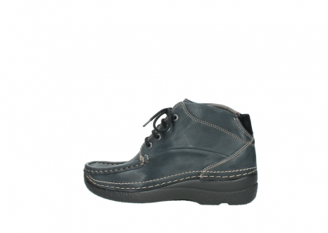 wolky lace up boots 06242 roll shoot 90800 dark blue nubuck_2