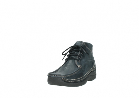 wolky lace up boots 06242 roll shoot 90800 dark blue nubuck_21