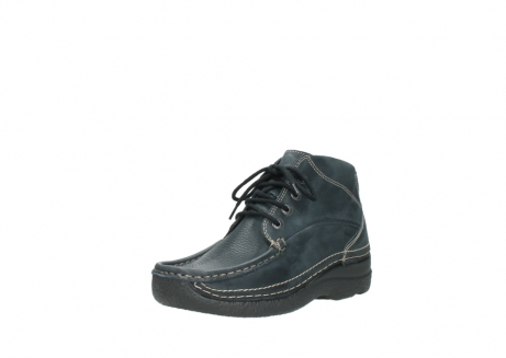 wolky lace up boots 06242 roll shoot 90800 dark blue nubuck_22