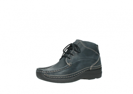 wolky lace up boots 06242 roll shoot 90800 dark blue nubuck_23