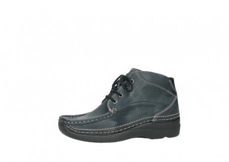 wolky lace up boots 06242 roll shoot 90800 dark blue nubuck_24
