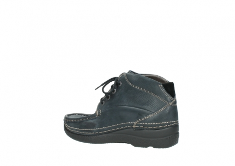 wolky lace up boots 06242 roll shoot 90800 dark blue nubuck_3