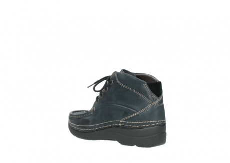 wolky lace up boots 06242 roll shoot 90800 dark blue nubuck_4