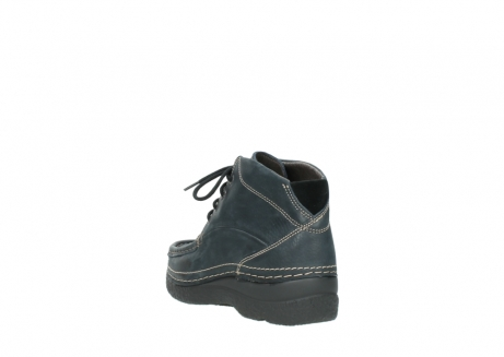 wolky lace up boots 06242 roll shoot 90800 dark blue nubuck_5