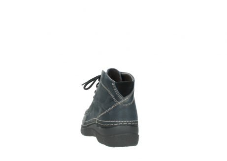 wolky lace up boots 06242 roll shoot 90800 dark blue nubuck_6