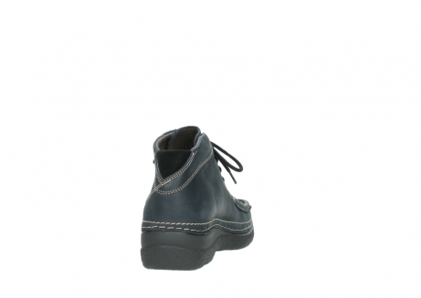 wolky lace up boots 06242 roll shoot 90800 dark blue nubuck_8