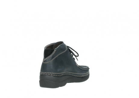 wolky lace up boots 06242 roll shoot 90800 dark blue nubuck_9