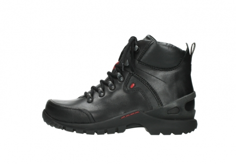 wolky lace up boots 06500 city tracker 30000 black leather_1