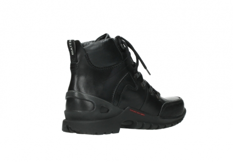 wolky lace up boots 06500 city tracker 30000 black leather_10