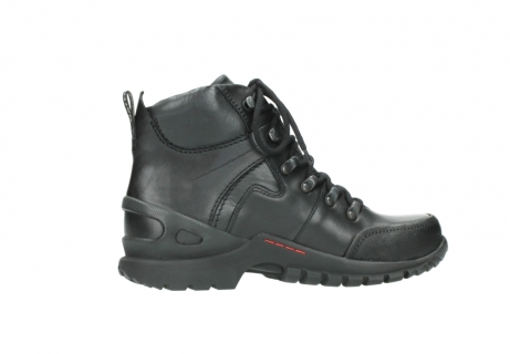 wolky lace up boots 06500 city tracker 30000 black leather_12