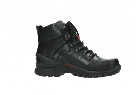 wolky lace up boots 06500 city tracker 30000 black leather_14