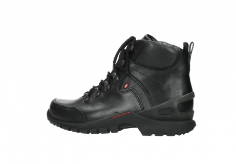 wolky lace up boots 06500 city tracker 30000 black leather_2