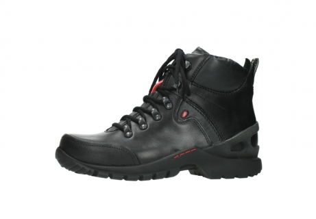wolky lace up boots 06500 city tracker 30000 black leather_24