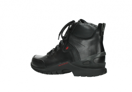 wolky lace up boots 06500 city tracker 30000 black leather_3