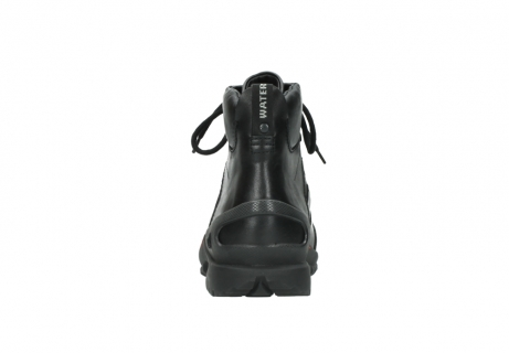 wolky lace up boots 06500 city tracker 30000 black leather_7