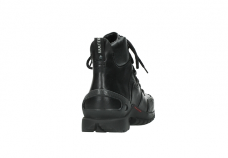 wolky lace up boots 06500 city tracker 30000 black leather_8