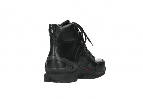 wolky lace up boots 06500 city tracker 30000 black leather_9