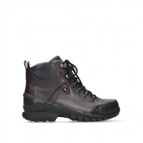 wolky bottines a lacets 06500 city tracker 30300 cuir marron