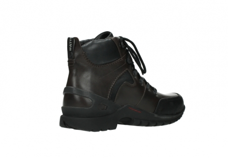 wolky bottines a lacets 06500 city tracker 30300 cuir marron_10
