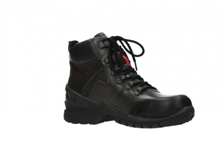 wolky bottines a lacets 06500 city tracker 30300 cuir marron_15