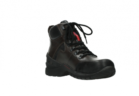 wolky bottines a lacets 06500 city tracker 30300 cuir marron_16