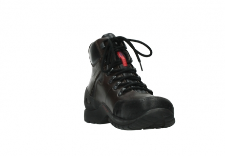 wolky bottines a lacets 06500 city tracker 30300 cuir marron_17