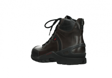 wolky bottines a lacets 06500 city tracker 30300 cuir marron_4