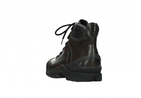 wolky bottines a lacets 06500 city tracker 30300 cuir marron_5