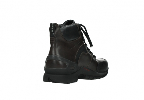 wolky bottines a lacets 06500 city tracker 30300 cuir marron_9