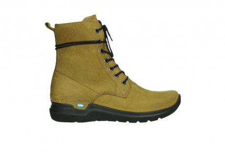 wolky lace up boots 06601 walla walla 11940 mustard nubuckleather_1