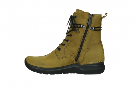 wolky lace up boots 06601 walla walla 11940 mustard nubuckleather_13