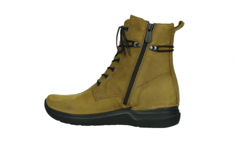 wolky lace up boots 06601 walla walla 11940 mustard nubuckleather_14