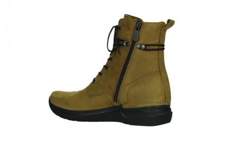 wolky lace up boots 06601 walla walla 11940 mustard nubuckleather_15