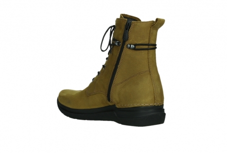 wolky lace up boots 06601 walla walla 11940 mustard nubuckleather_16