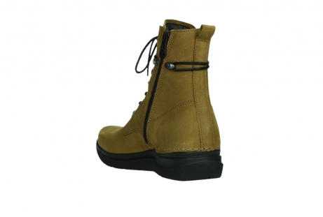 wolky lace up boots 06601 walla walla 11940 mustard nubuckleather_17