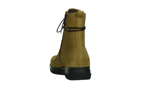 wolky lace up boots 06601 walla walla 11940 mustard nubuckleather_18