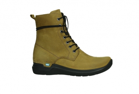 wolky lace up boots 06601 walla walla 11940 mustard nubuckleather_2